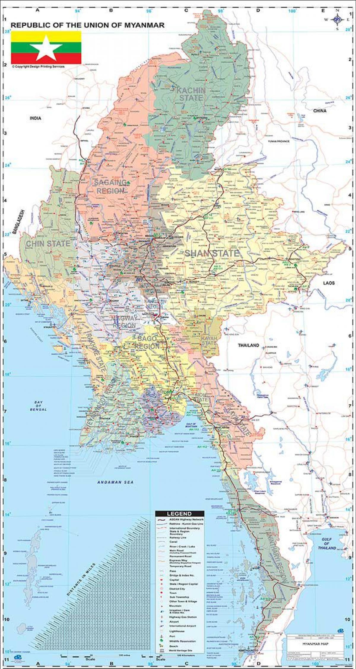 Birmanie Carte Regions.Myanmar Carte App Myanmar Carte Apk Asie Du Sud Est Asie